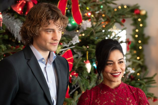 Josh Whitehouse and Vanessa Hudgens in