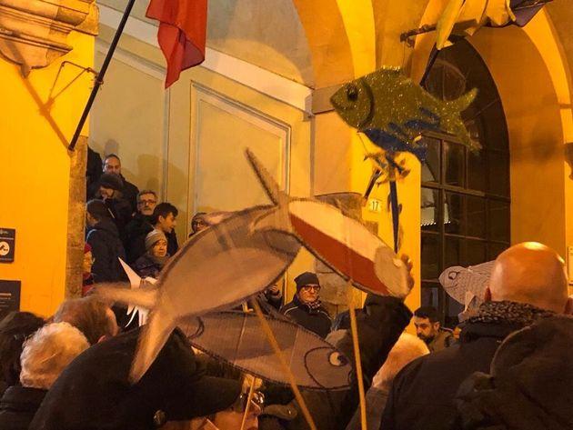 Sardine a Modena contro