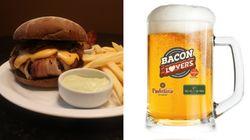 Restaurante lança chope de bacon e passa a permitir que fãs 'bebam' sua comida