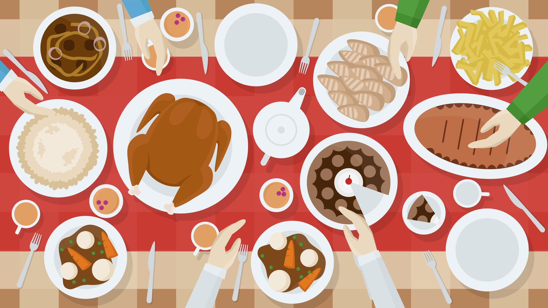 The Best Time To Eat Thanksgiving Dinner, According To Experts