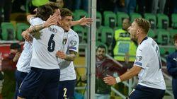 9 a 1 all'Armenia, l'Italia di Mancini da