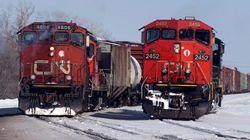 CN: la grève potentielle ne touchera pas les trains de