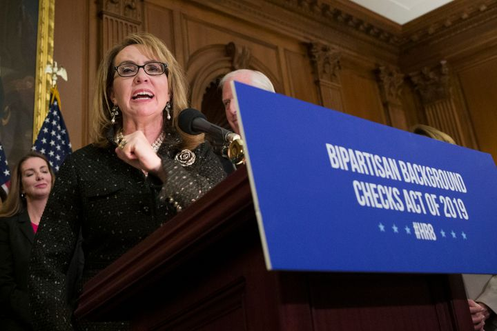 Giffords Law Center, a gun safety group launched by former Rep. Gabby Giffords, is urging the Senate to reject Lawrence VanDy