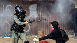 홍콩이공대 시위 : 경찰