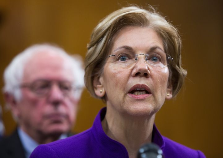 Sens. Elizabeth Warren (D-Mass) and Bernie Sanders (I-Vt.) joined with Sen. Cory Booker in asking MSNBC's parent company to c