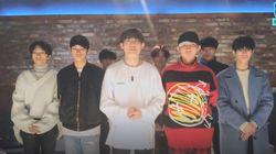 TRCNG 남은 멤버들이 1분 남짓 생방송에서 한