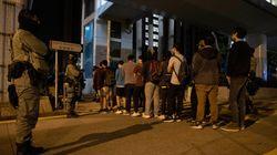 '마지막 보루' 홍콩 이공대 학생 수백명이 경찰에