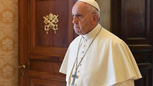 El papa Francisco, durante una audiencia en el
