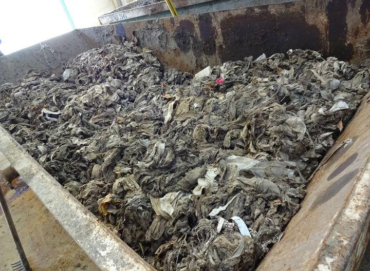 Residuos sólidos encontrados en el ENAR de Arroyo Culebro.