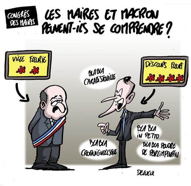 Emmanuel Macron et les maires peuvent-ils vraiment se