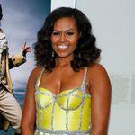 Michelle Obama fait (encore) sensation avec cette robe haute