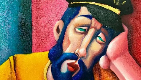 Le plasticien Khaled Rochdi Bessaih revisite