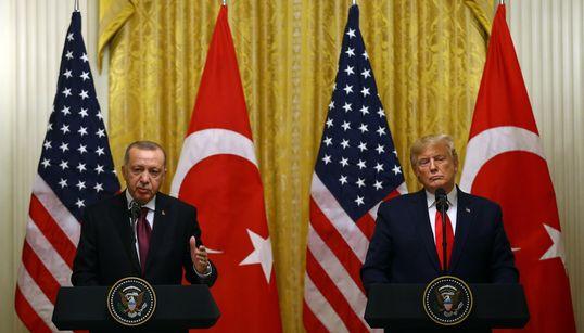 Ερντογάν: «Είπα στον Τραμπ ότι δεν κάνουμε πίσω για τους