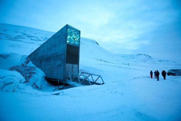 Το Svalbard Global Seed Vault, όπου είναι αποθηκευμένοι
