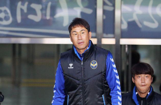 유상철 인천 유나이티드