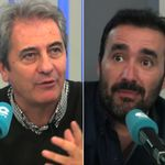 Manolo Lama y Juanma Castaño se enzarzan en antena por la salida de Cuatro del