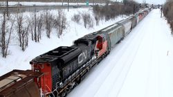 CN Rail Workers On Strike For The 1st Time In A