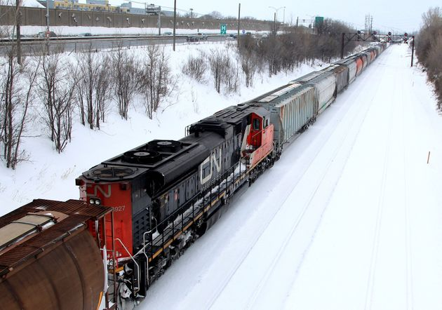 CN Rail Workers On Strike For The 1st Time In A Decade