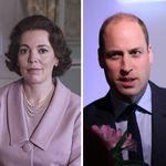 Olivia Colman, de 'The Crown', revela que encontro com príncipe William 'não foi muito