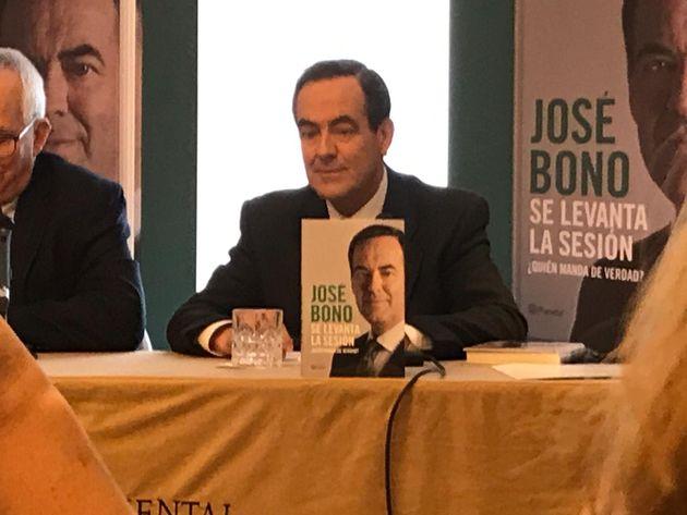 José Bono este martes en