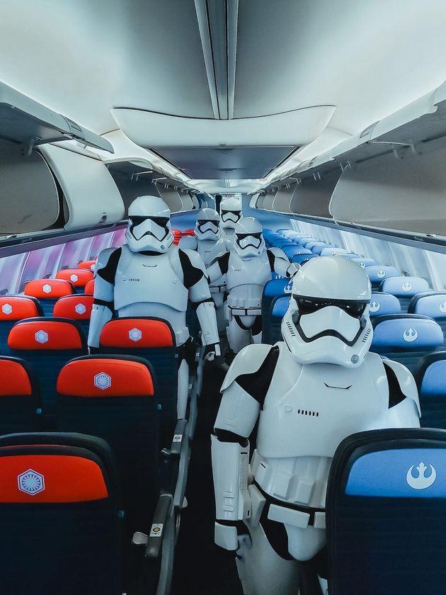 United lança avião temático inspirado na saga 'Star