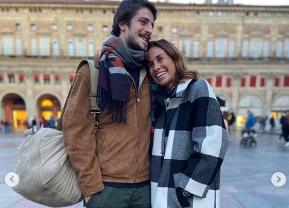 La dedica di Cristina Parodi al figlio lontano: