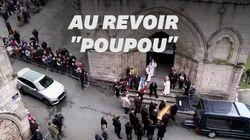 Poulidor s'en va, porté par Bernard Hinault et Bernard