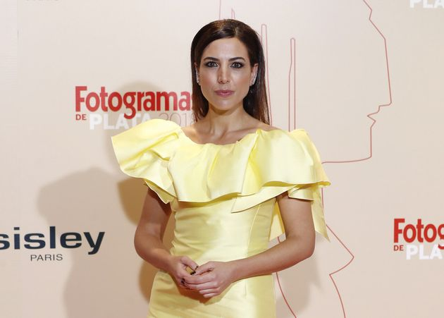 Alicia Rubio en los Fotogramas de Plata de