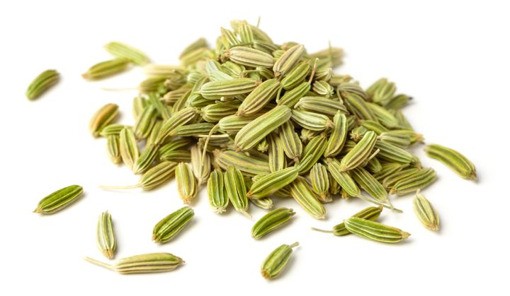 Chewing fennel seeds can help relax your digestive system.