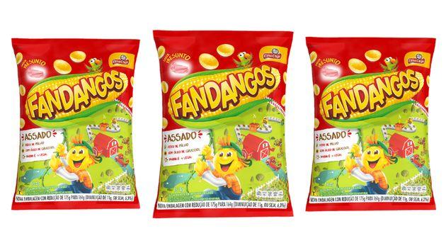 Embalagem de Fandangos sabor