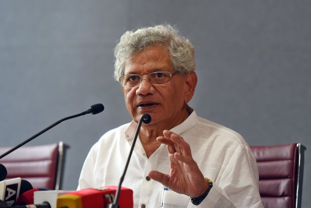 Communist Party of India (Marxist) General Secretary Sitaram Yechury in a fiule