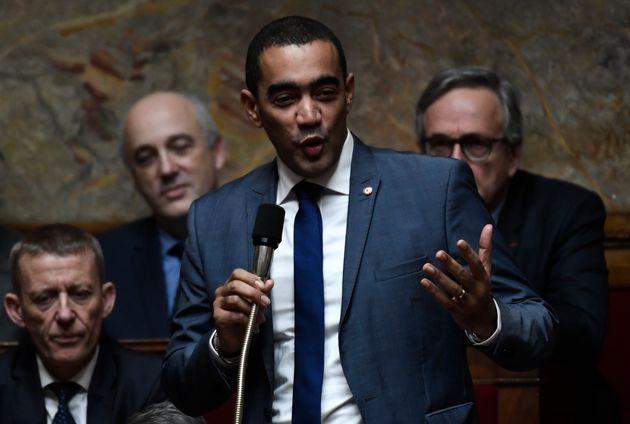 Le député LREM Saïd Ahamada à l'Assemblée nationale le 15 janvier