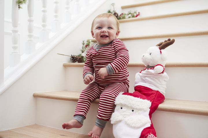 Babies and toddlers love Christmas, and will love these cute stocking stuffers.