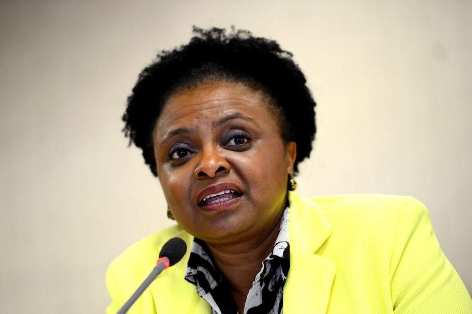 A ex-ministra de Estado das Mulheres, da Igualdade Racial e dos Direitos Humanos, Nilma Lino Gomes, em...