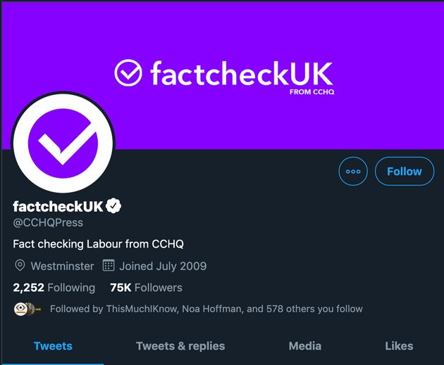 Tory HQ Has Been Accused Of Misleading People On Twitter – Again