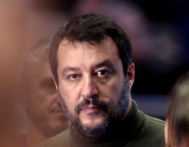 Matteo Salvini ici à Bologne en Italie le 14 novembre