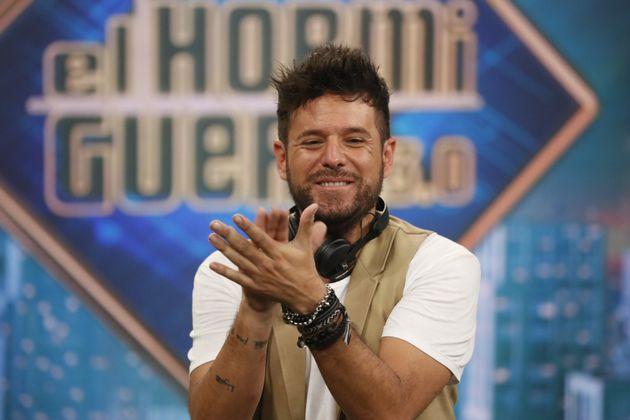 Pablo López en su visita a 'El