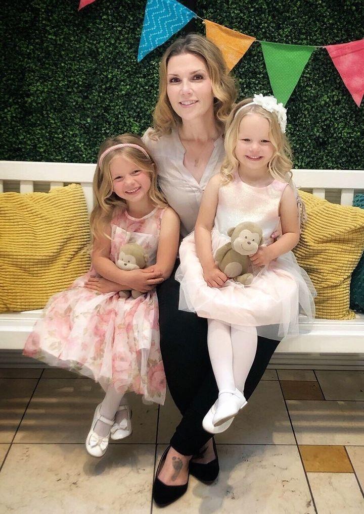 Jillian Johnson et ses deux filles