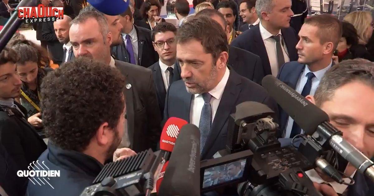 """Pour Christophe Castaner, le préfet de police de Paris """"n'a pas outrepassé sa neutralité"""""""