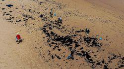 Comandante da Marinha compara óleo com torres gêmeas e diz que Brasil foi