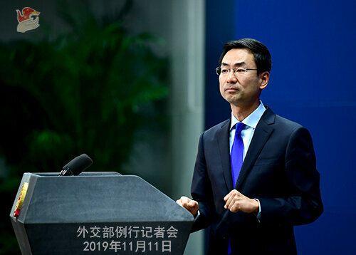 겅솽 중국 외교부