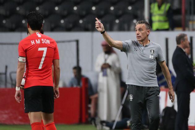한국과 브라질 경기가 열리는 동안, 카타르 월드컵 예선 순위가