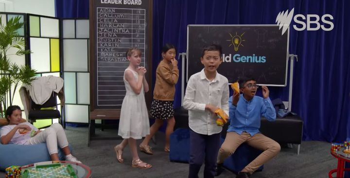 The SBS show Child Genius follows 16 of Australia's brightest kids from various cultural backgrounds.