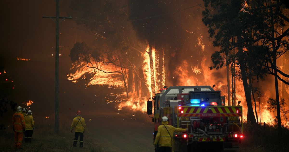 10,000 People Left Without Power As Bushfires Flare In South Australia