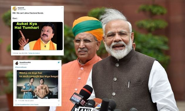 Electoral Bonds: Twitter Brings Out Its Finest Memes To Troll Modi
