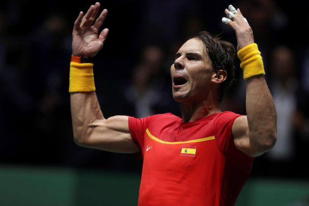 El tenista español Rafa