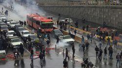 이란에서 기름값 인상에 항의하던 시위대 100여명이 숨졌다
