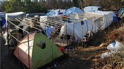 Προσφυγικό/μεταναστευτικό: Iερά Μονή Βόμβυξ, Σύνταγμα και τα παράπονα στον