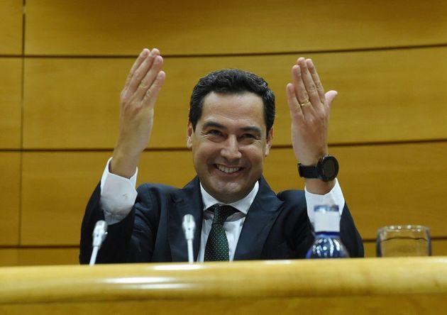 El presidente del Gobierno andaluz, Juanma
