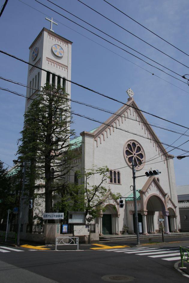 カトリック碑文谷教会(サレジオ教会)=東京都目黒区